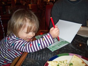 Frankie and Benny's, activity pack