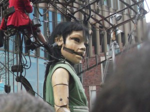 Little Girl Giant, Sea Odyssey, Giant Spectacular