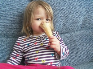 eating ice cream, ice cream cone, astleys cone